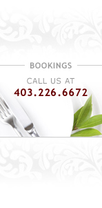 Bookings Call us at 403.545.6767